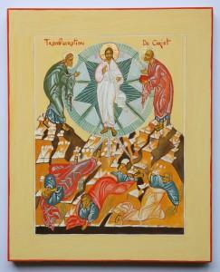 icône de transfiguration