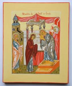 icône du christ au temple