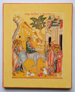 icône du christ à jérusalem