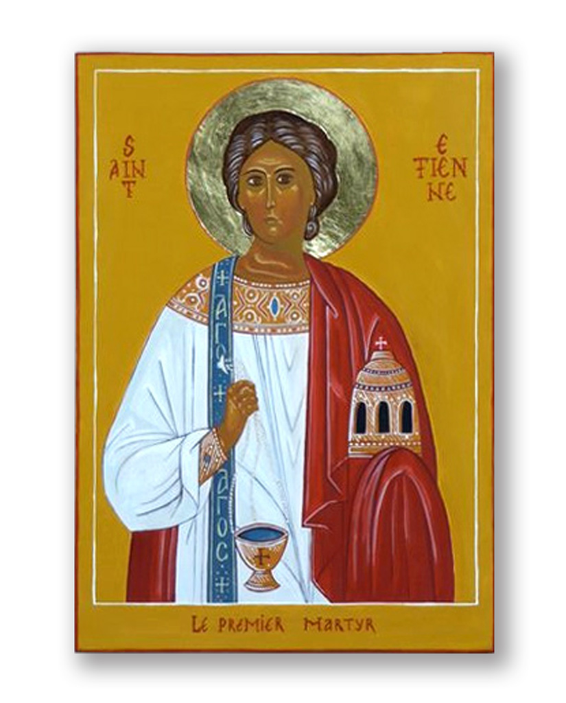 Saint etienne atelier d 39 iconographie saint thomas - Luminaire st etienne ...