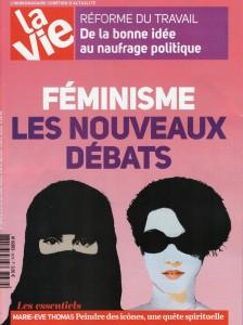 """Front page """" la Vie"""" march 3 2016"""
